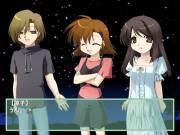 【ゲーム画面】各キャラクターもセリフによって表情などが変わりシーンを演出します。