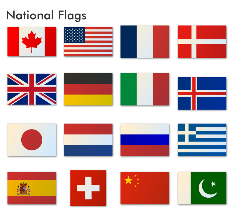 National Flags -国旗のアイコン集 ...