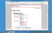 付属のエディタで画像の加工やキャプションの追加が可能