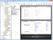 エディタ上で縮小イメージを見ながら、PDF化したい文書を編集