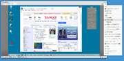 「AnyDesk」ウィンドウ内に相手のデスクトップが表示され、自由に操作できる