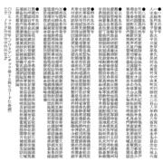 収録文字サンプル(漢字・外字)
