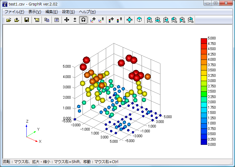 Graph Rの詳細情報 Vector ソフトを探す